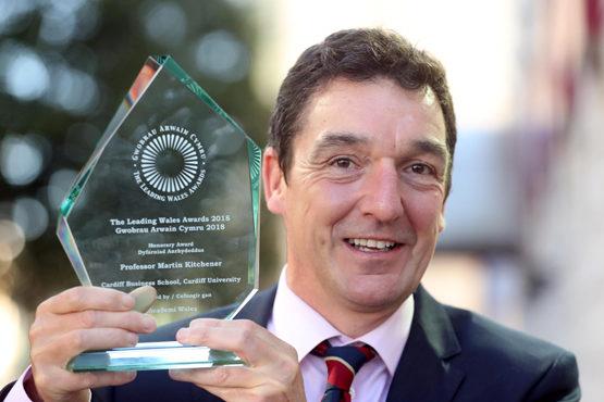 Professor Martin Kitchener, (until very recently) Dean of Cardiff Business School, Cardiff University