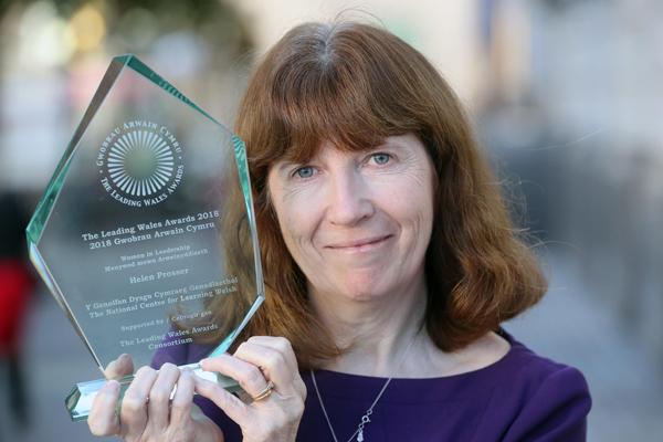 Helen Prosser, winner of Women in Leadership